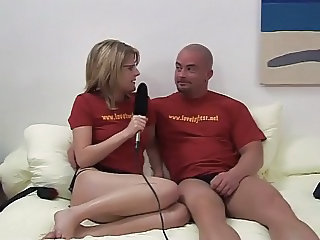 couple try out sex toys
