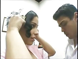 Latina Maid doing what her boss wants !