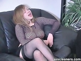 Ass cleaner loves mistress ass and its dirty hole