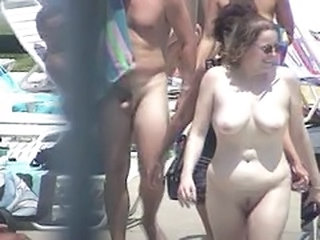 Nude at Pool -101