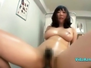 Busty Asian Girl Getting Her Hairy Pussy Fucked