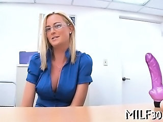 Sexy darling loves riding cock