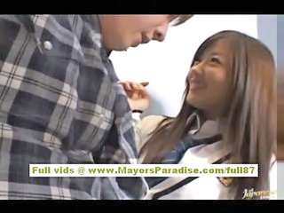 Miyu Hoshino Naughty Chinese Schoolgirl Enjoys Sucking Cocks