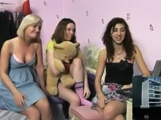 Three young girls invite internet bloke round to strip for them inside real life