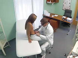 "Shaped brunette babe likes to fuck her doctor"" class=""th-mov"