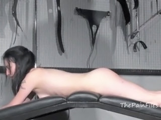 Whipped Fae Corbins big shagging  and strict slavery in dungeon submission of...