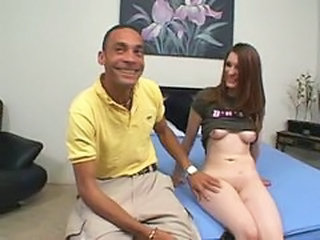 Ryzell meets onster cock ramon