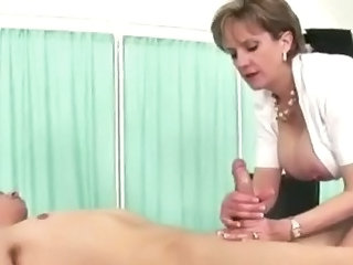 Cuckolds wife plays with cock Sex Tubes