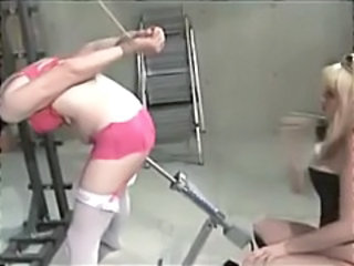 Sissy Boy Spanked And Machined In The Ass