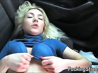 Dumped Blonde Teen Victoria Puppy Fucked In The Backseat