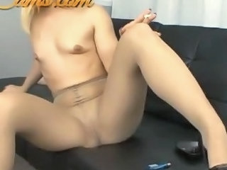 Teen In Patyhose Smoking Fetish