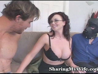 Dirty Piggy Hubby Watches Wife