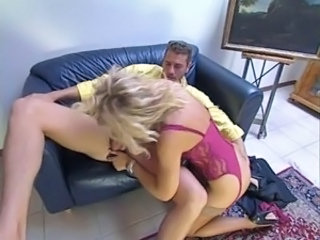 Alessandra Schiavo Italian Milf in stocking