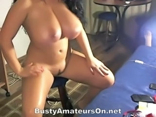 Curvy curly haired woman with g ... free
