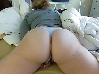 Wife Rubbing her Clit