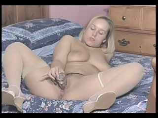 British Slut Ashley Plays With Herself In Various Scenes