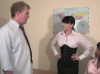 Mistress Knows Best - Strict woman schoolteacher spanking