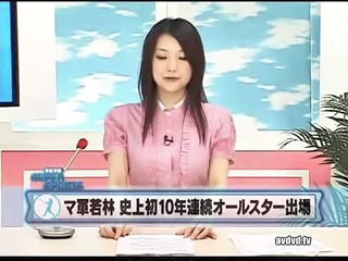 "Japanese Anchorwoman Is Fucked Shamelessly In A Live Television Broadcast"" class=""th-mov"