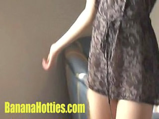 Teen Vendula comes to her 1st casting...