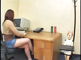 The Office Bitch - (femdom)