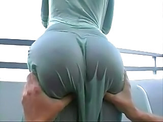 Ass MILF Outdoor