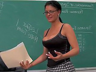 Glasses School Teacher