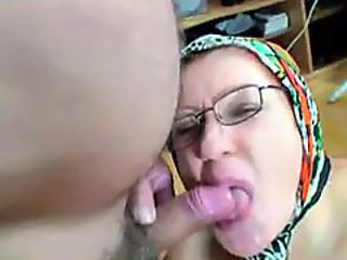 BBW Blowjob Glasses Mature