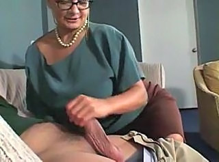 Glasses Handjob Teacher