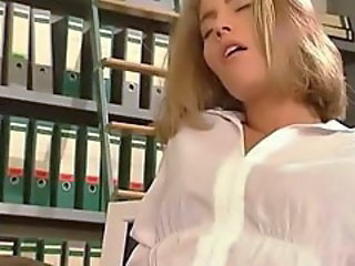 Blonde German Orgasm