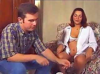 Anal German Pregnant Strapon