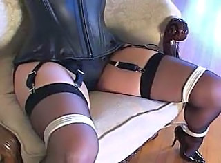 Bondage Corset Stockings