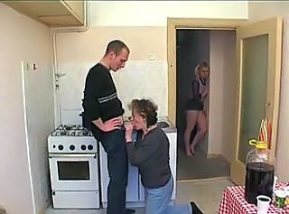 Daughter Family Groupsex Kitchen