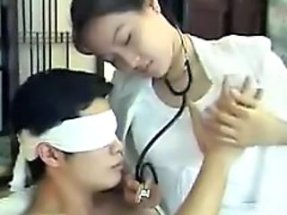 Asian Japanese Nipples Nurse