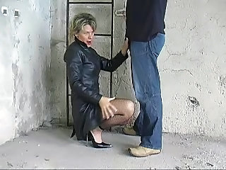 Clothed German Mature