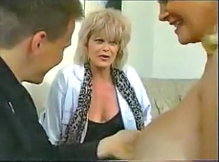 Family Mature Mom Threesome