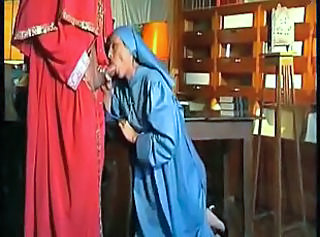 Blowjob Clothed Nun