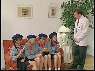 Groupsex Teen Uniform Vintage