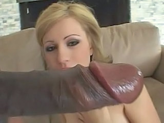 Amazing Babe Big cock Blonde Smoking