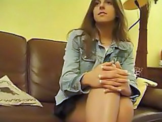 Brunette French Old and Young Teen Threesome