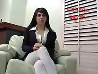 Brunette Forced Hardcore Stockings