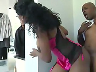 Doggystyle Ebony Hardcore Lingerie
