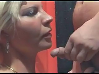 Blonde Blowjob Small cock