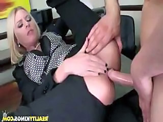 Anal Blonde Clothed Hardcore