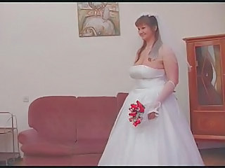 BBW Big Tits Bride Mature