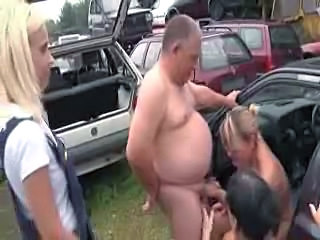 Blowjob Daddy Family Mature Old and Young Outdoor
