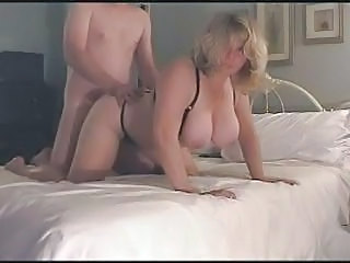 Amator BBW Tate mari Blonda Capra Facut in casa Lenjerie Nevasta