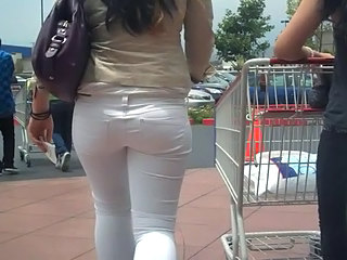 Amateur Ass Jeans MILF Public Russian