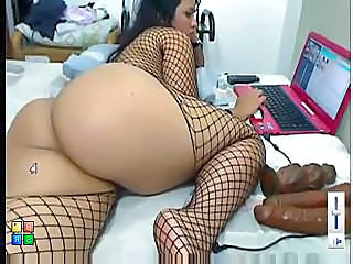 Kont Dame Vistnet Latina Solo Speeltje Webcam