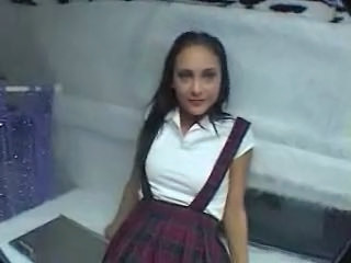 Brunette School Uniform