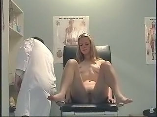 Blonde Doctor Feet Legs Russian